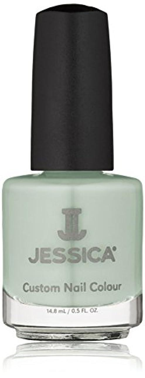 より平らな旋律的適合しましたJessica Nail Lacquer - Mint Blossoms - 15ml / 0.5oz