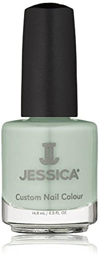 雪だるまを作る床を掃除する特殊Jessica Nail Lacquer - Mint Blossoms - 15ml / 0.5oz