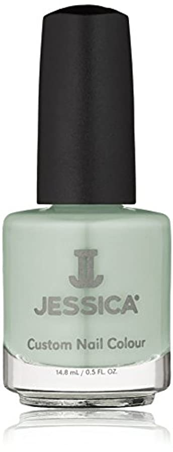 状況共同選択靄Jessica Nail Lacquer - Mint Blossoms - 15ml / 0.5oz