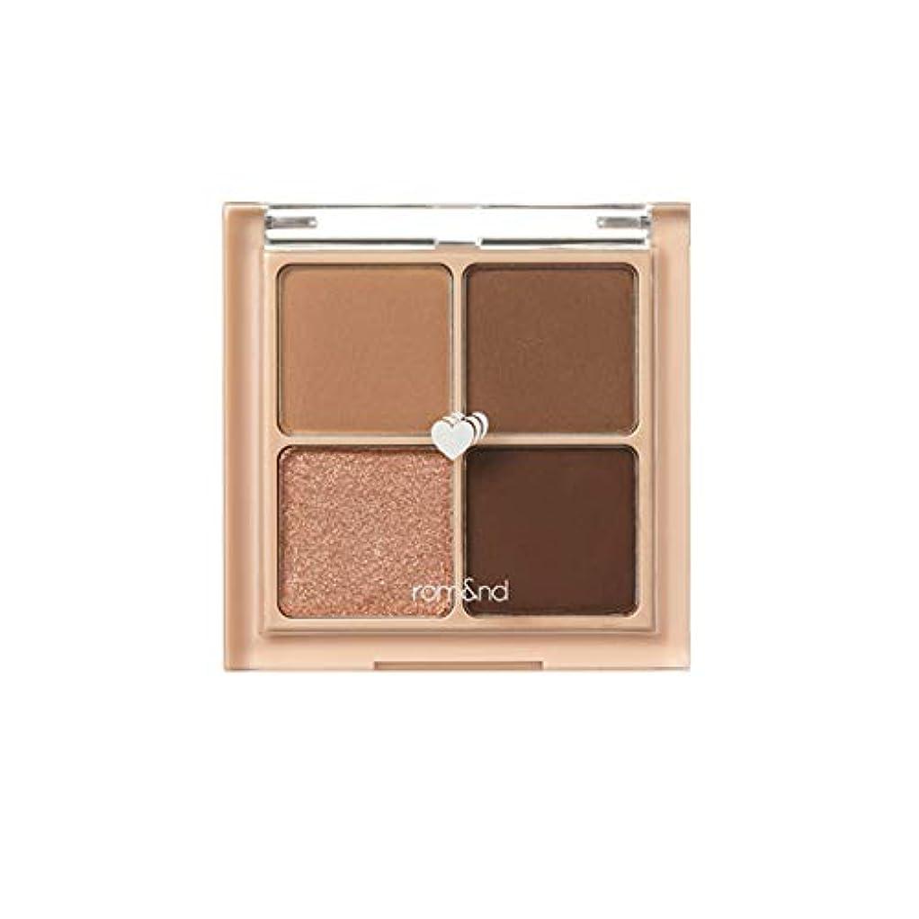 離婚文房具アトミックrom&nd BETTER THAN EYES Eyeshadow Palette 4色のアイシャドウパレット # 3 DRY ragras(並行輸入品)