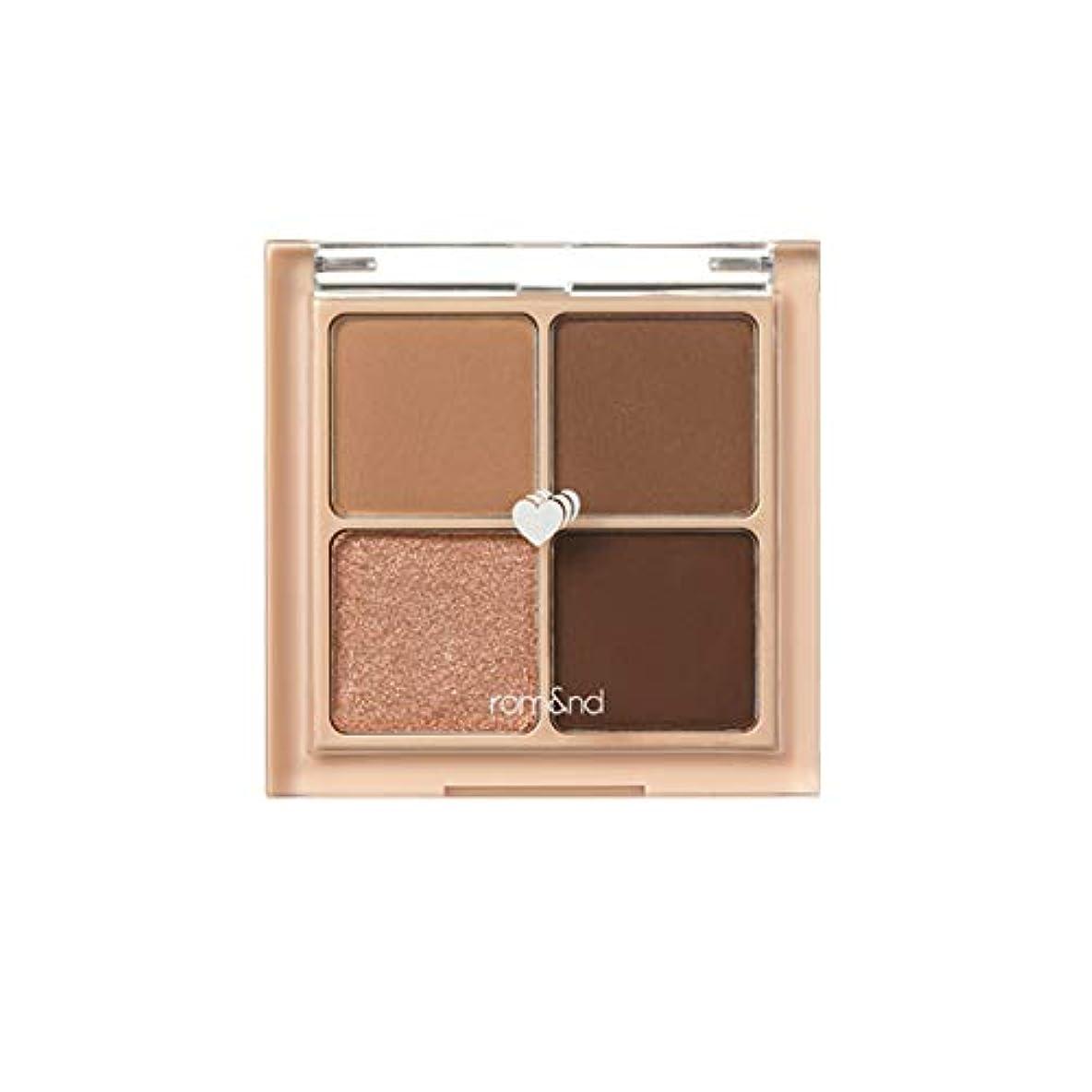 ヘッドレス永久に数値rom&nd BETTER THAN EYES Eyeshadow Palette 4色のアイシャドウパレット # 3 DRY ragras(並行輸入品)