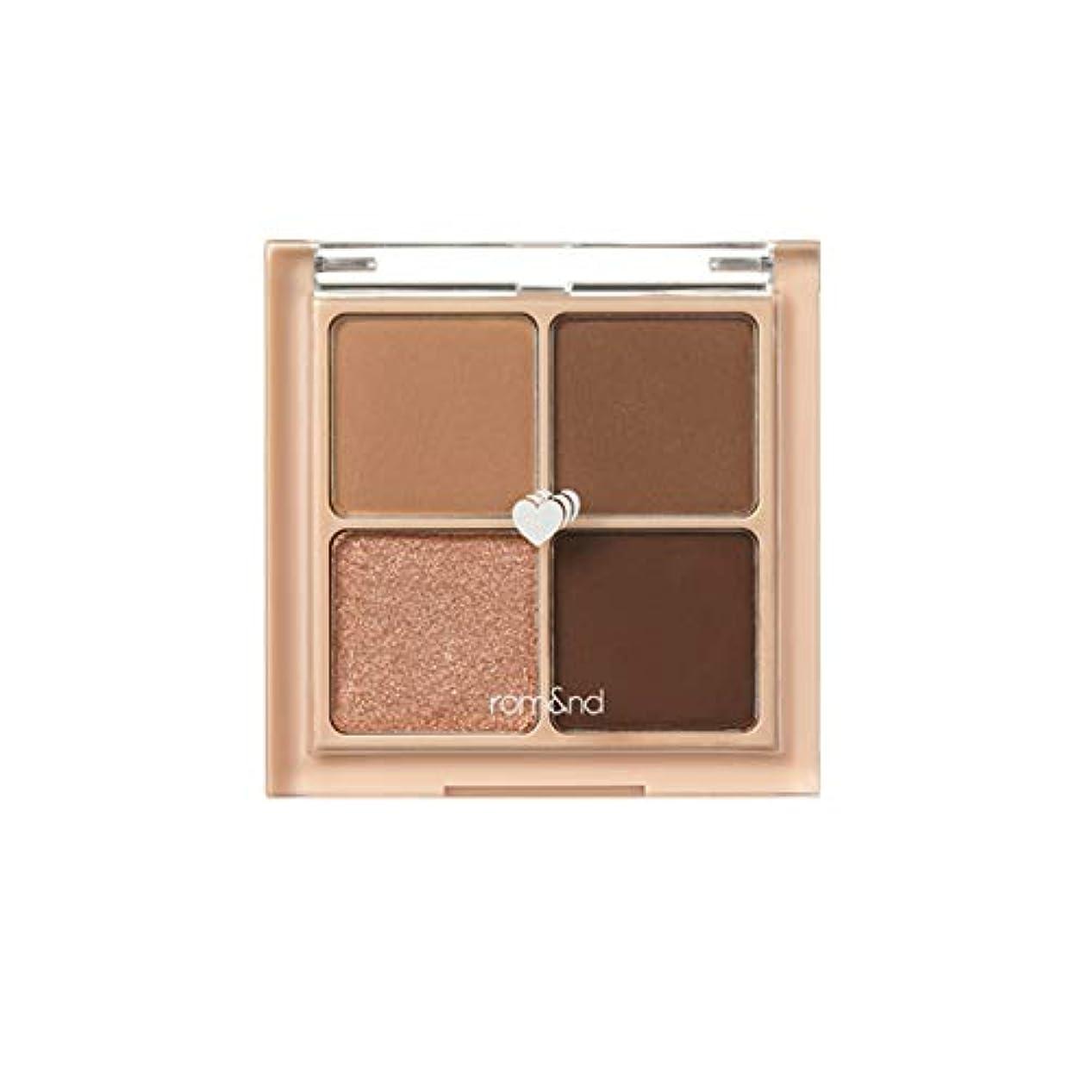 マーティフィールディング信頼統計的rom&nd BETTER THAN EYES Eyeshadow Palette 4色のアイシャドウパレット # 3 DRY ragras(並行輸入品)
