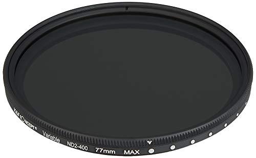 K&F Concept 可変式NDフィルター 77mm NDX 減光範囲ND2~ND400 薄枠設計 KF-NDX77