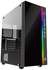 RGBライティング機能付きExtended-ATX対応ゲーミングPCケース GX-PCP-RGB