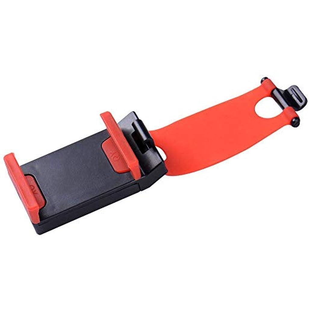 ウナギゼリー率直なJicorzo - 6つの6Sプラス三星ギャラクシーS8 S7 S5 S6エッジについてiPhone 7のための普遍的な車の自動車のステアリングホイールソケット移動ケースホルダースタンド