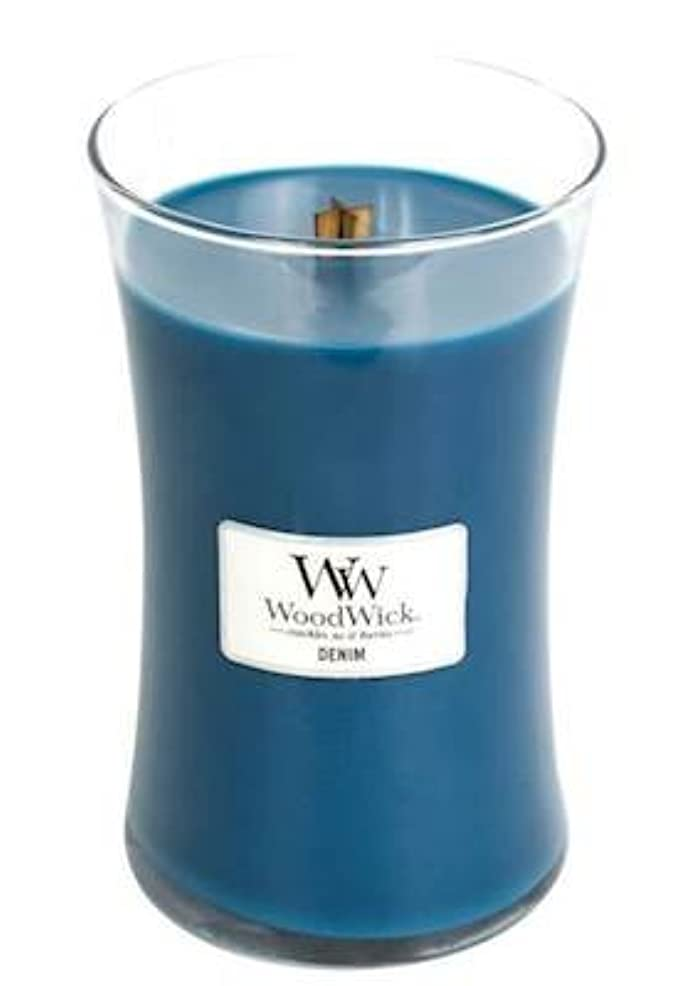デニム – WoodWick 22oz Medium Jar Candle Burns 180時間