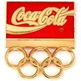 限定 レア ピンバッジ コカコーラ金色ゴールド五輪オリンピック大会 ピンズ フランス