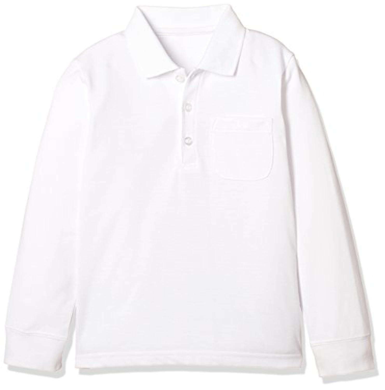 [ベルメゾン] 吸水速乾長袖ポロシャツ(ゆったり) ガールズ D84320