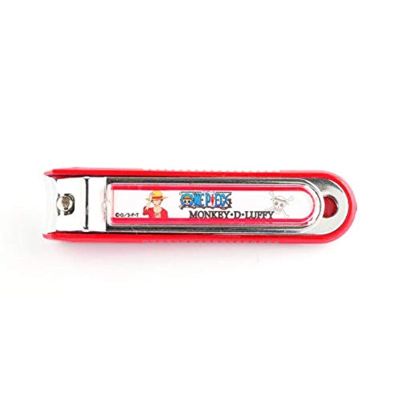 不屈コスト宣伝ニッケン刃物 デザイン小物 ルフィ 1.5×2×8cm ワンピース爪切り ON-850L