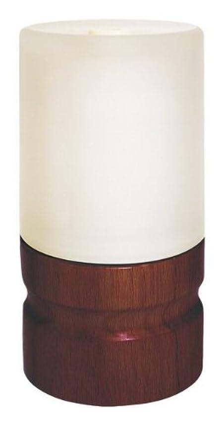 オン縞模様のカストディアンアロマランプディフューザー ダークブラウン