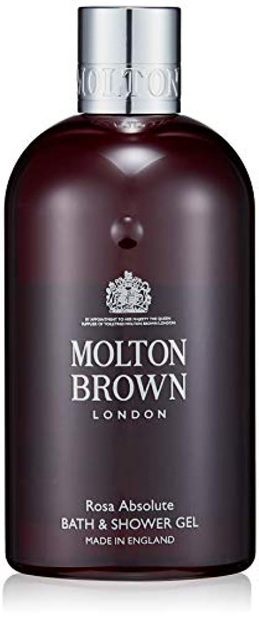 辞任する口ひげ繊維MOLTON BROWN(モルトンブラウン) ローザ コレクションRA バス&シャワージェル ボディソープ 300ml