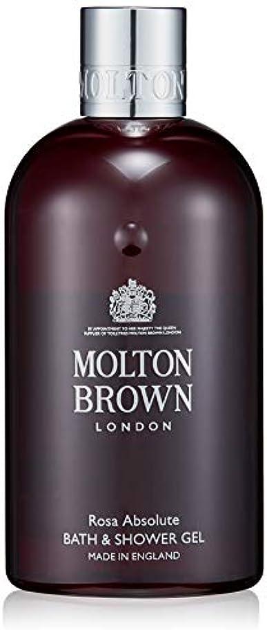 蜂不変ふざけたMOLTON BROWN(モルトンブラウン) ローザ コレクションRA バス&シャワージェル ボディソープ 300ml