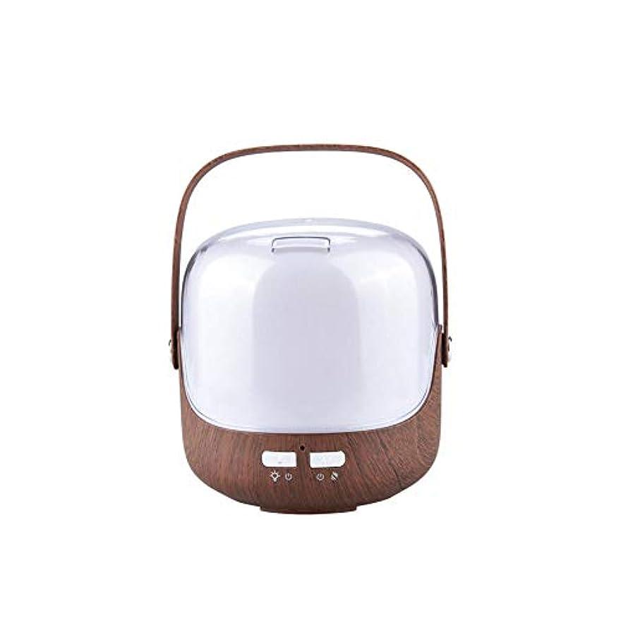 求人アクセスできないうつ木目 ポータブル 涼しい霧 加湿器 ハンドル 自動シャット ダウン-オフ 加湿機 超音波式 精油 ディフューザー 空気を浄化 蒸気気化器 デスク-