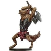 D & D Minis: Gnoll Barbarian # 52 - Blood War