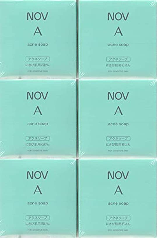 心理学おじさん曇ったノブ A アクネソープ 70g×6箱セット <にきび肌用枠練石けん>