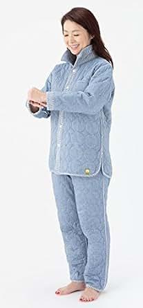 冬用パシーマパジャマ「Japan Blue」紺無地_暖かぐっすり睡眠大人用 (S)(男女共通)「アイディング元気ウエア」オリジナル