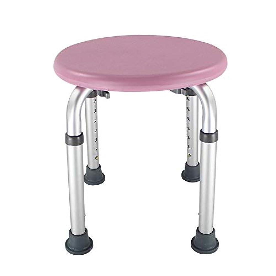 呼吸するインディカたらい調節可能な高さのラウンドバスシートまたは高齢者用シャワースツール入浴用品