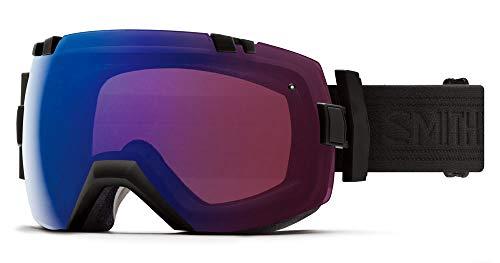SMITH OPTICS(スミス)アイ・オー エックス スキーゴーグル スノーゴーグル 大人用 レンズ2枚標準装備 I/OX BLACKOUT F