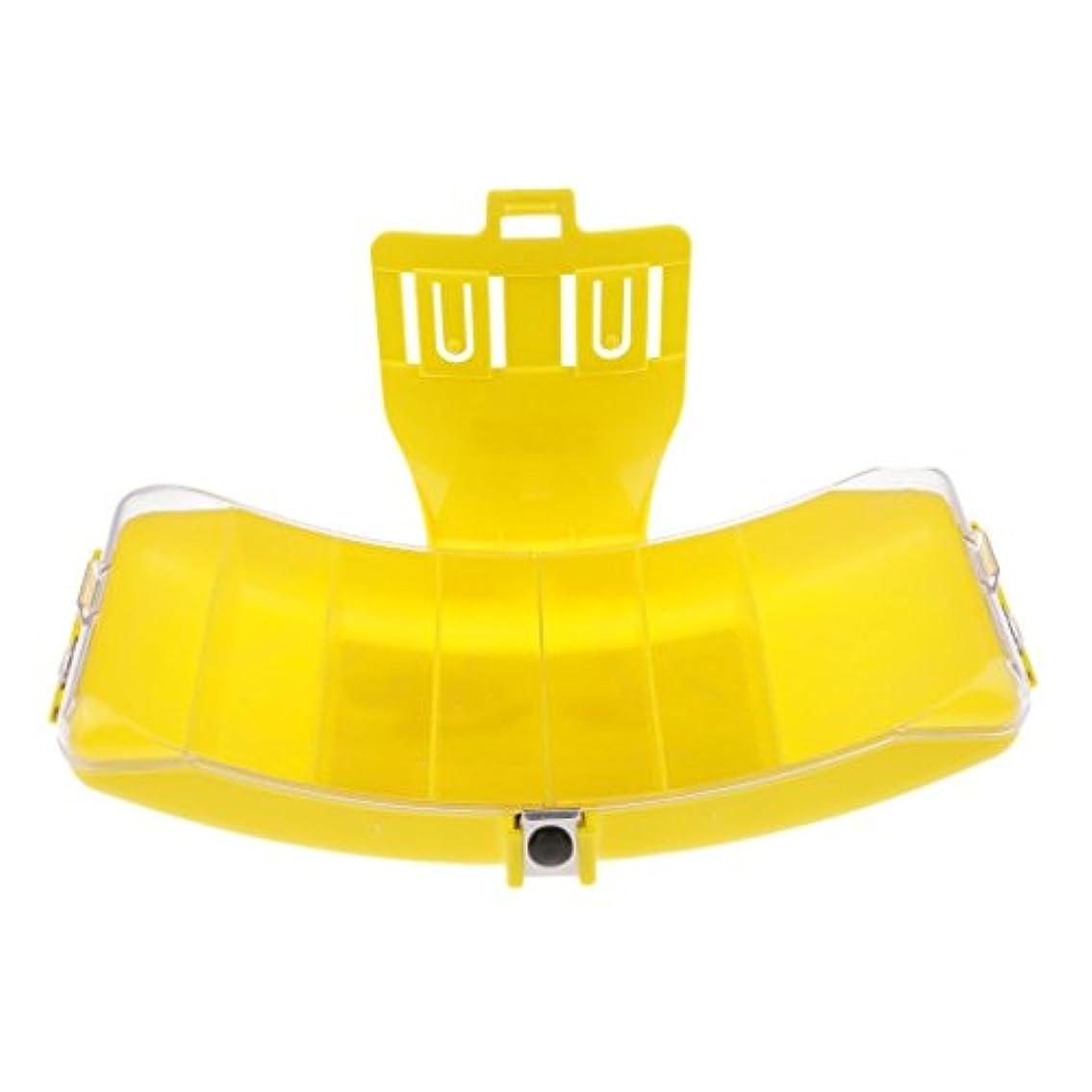 ステーキ引き金民主党Fenteer 釣り餌 ルアーケース フライボックス 腰掛け ベルト 固定 ABS樹脂素材 高性能 全2色
