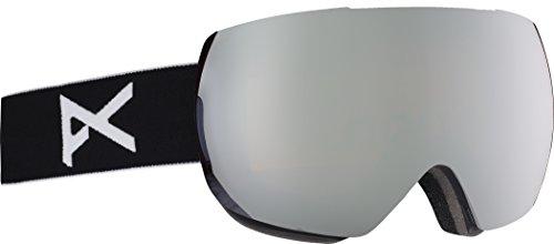 Anon(アノン) スノーボード スキー ゴーグル メンズ MIG Black / SONAR Silver By ZEISS 194181 アジアンフィット 球面 ハイコントラストレンズ