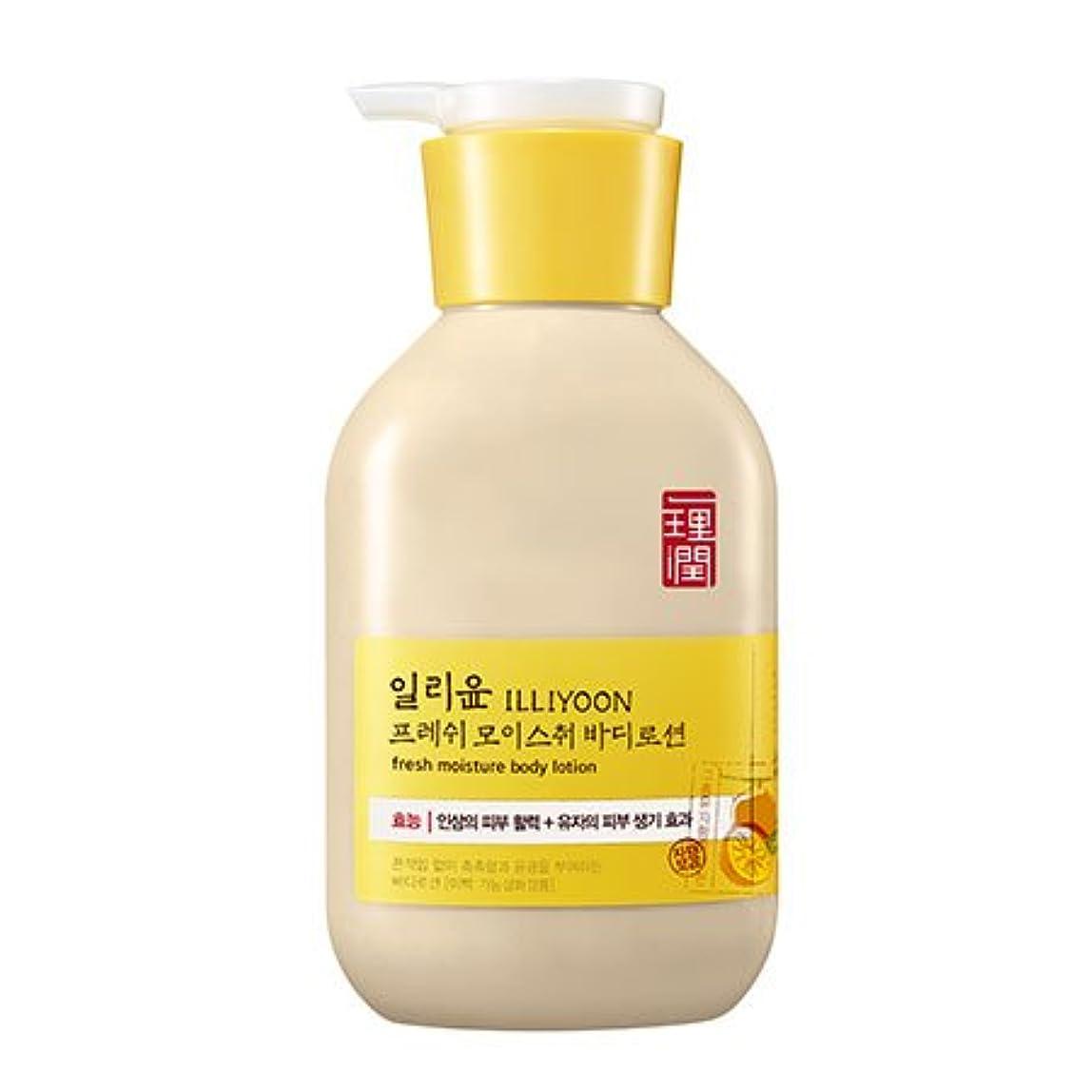 捨てる粒子オーブンILLIYOON Fresh Moisture Body Lotion 350ml/イリーユン [アモーレパシフィック] フレッシュモイスチャー ボディローション [並行輸入品]
