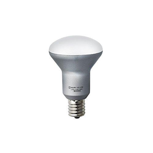 ELPA LED電球 ミニレフ球形 口金直径17mm 電球色 LDR4L-H-E17-G611