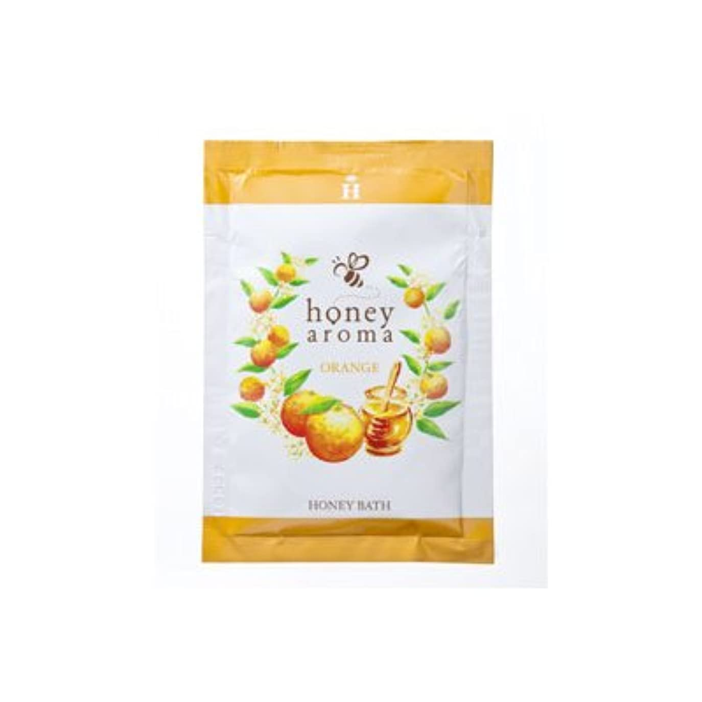 毛皮スーパー郵便屋さんハニーアロマ ハニーバス(入浴剤) 5包(オレンジの香り)