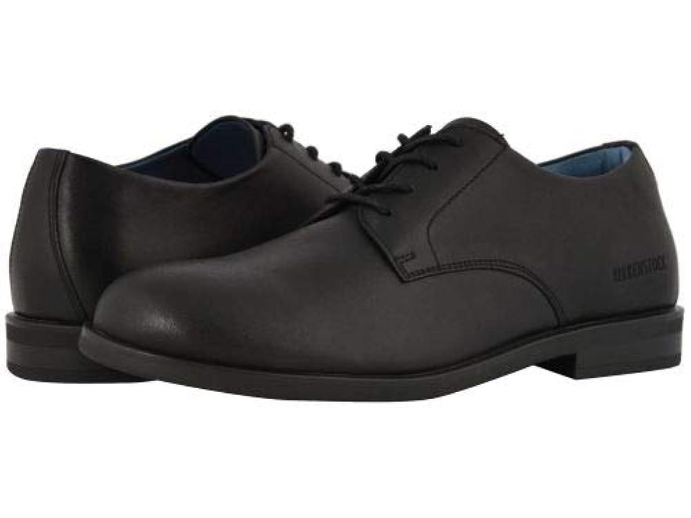 容赦ないチャット納屋Birkenstock(ビルケンシュトック) メンズ 男性用 シューズ 靴 オックスフォード 紳士靴 通勤靴 Jaren - Black Leather [並行輸入品]