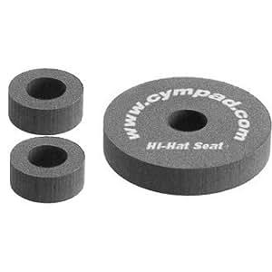 CYMPAD Optimizers オプティマイザー/シンバルワッシャー ハイハット クラッチ&シート セット (クラッチ2個、シート1個)