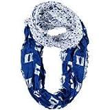 NCAA DukeブルーDevils Floral infinityスカーフ