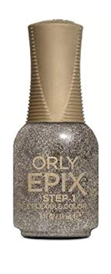 忌避剤スロベニア旧正月Orly Epix Flexible Color Lacquer - Party in the Hills - 0.6oz / 18ml