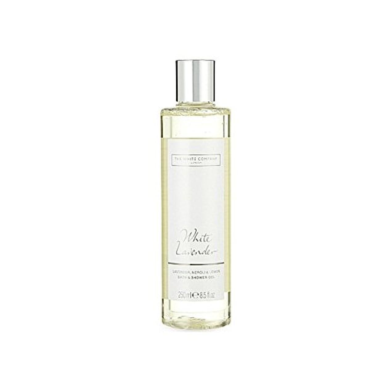 法医学和思想The White Company White Lavender Bath & Shower Gel - 白同社白ラベンダーのバス&シャワージェル [並行輸入品]