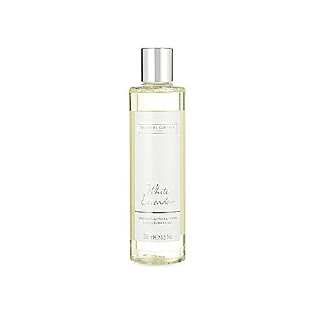 プランターブランチ杭The White Company White Lavender Bath & Shower Gel - 白同社白ラベンダーのバス&シャワージェル [並行輸入品]
