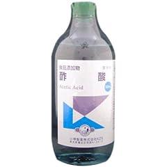 酢酸(食添) 500ml