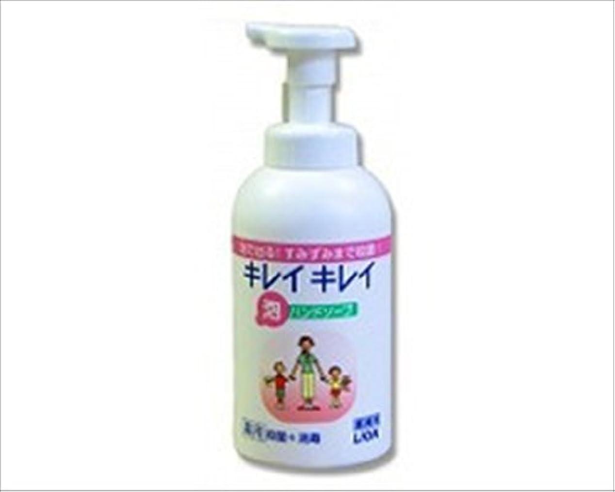 軽食政令疼痛ライオン キレイキレイ薬用泡ハンドソープ/ 550mL 大型ポンプ本体
