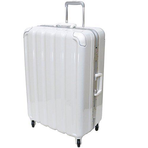 (シフレ グリーンワークス) siffler GREEN WORKS シフレ グリーンワークス GRE1043-66 スーツケース 日乃本キャスター 93リットル 4.9kg 3辺合計157cm (メタリックホワイト)