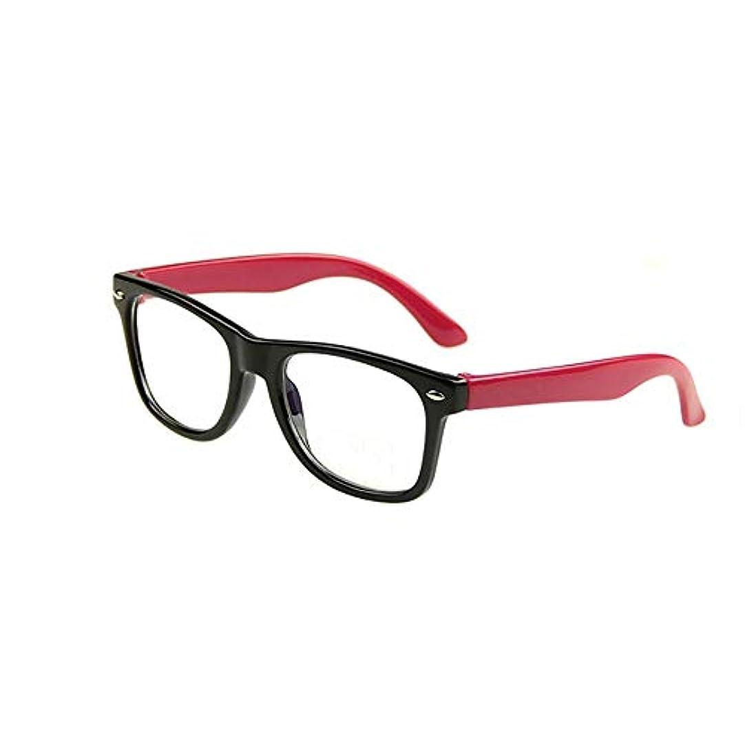 終了する倍増融合アンチブルーライトメガネ、ブルーライト遮断用クリアレンズ付きキッズメガネ、アンチアイ疲労コンピュータアイウェア、ユニセックス(男の子/