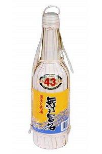 入波平酒造 舞富名 泡盛43度 600ml/e983