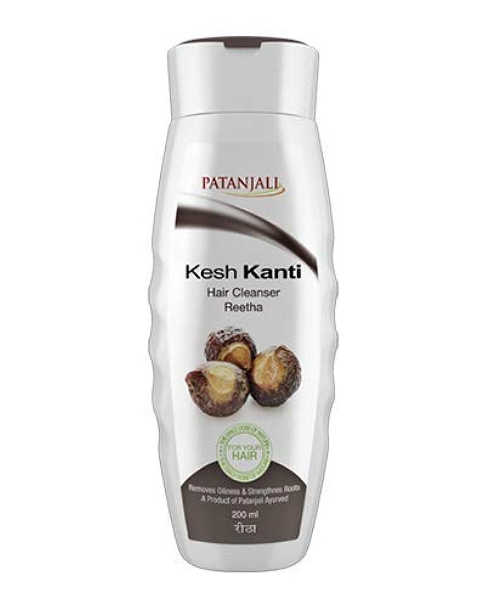 引数研磨剤削減Patanjali Kesh Kanti Reetha Hair Cleanser Shampoo, 200ml