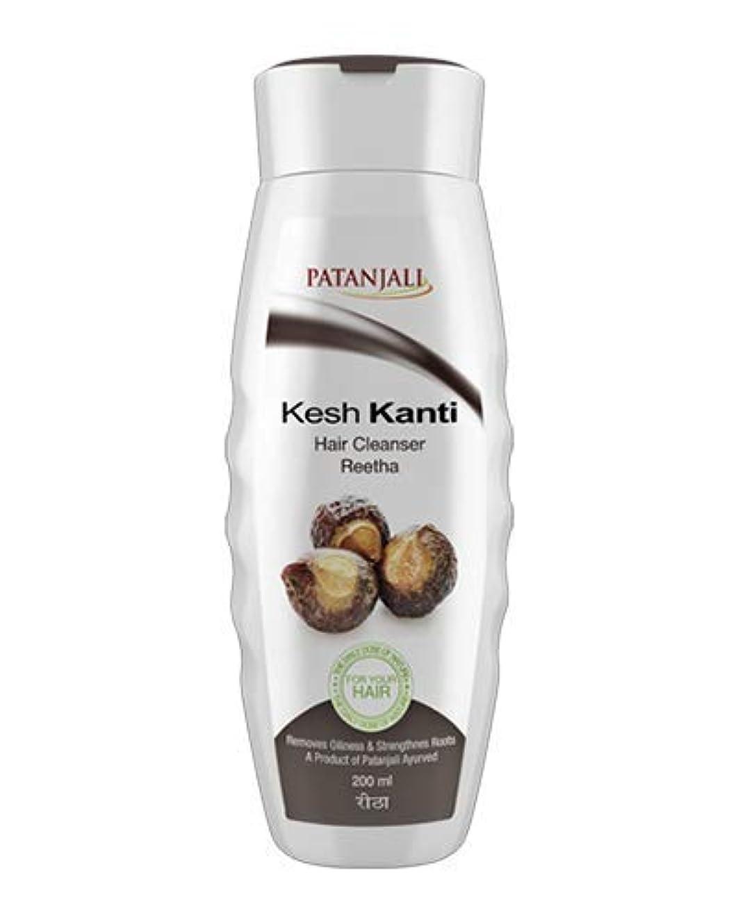 ナースフクロウ発生器Patanjali Kesh Kanti Reetha Hair Cleanser Shampoo, 200ml