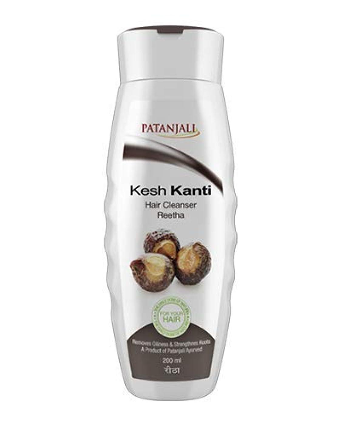 ソロ聴衆円周Patanjali Kesh Kanti Reetha Hair Cleanser Shampoo, 200ml