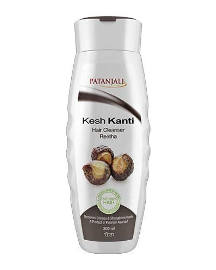 申込み堂々たる複製するPatanjali Kesh Kanti Reetha Hair Cleanser Shampoo, 200ml