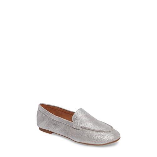 セイシェルズ シューズ パンプス Seychelles Exploring Loafer Flat (Women) Silver Met [並行輸入品]