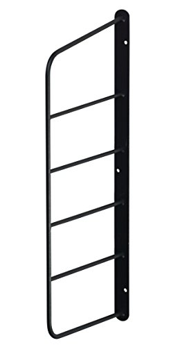 RoomClip商品情報 - Weekend Workshop シェルフフレーム ミニ 1本 1×6木材・パイン材用 石膏ボードピンまたはネジで取付 黒 WFK-46