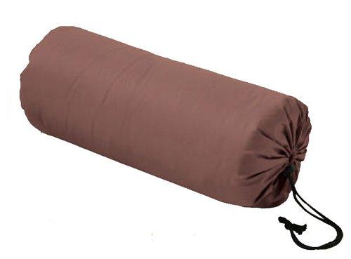 羽毛寝袋 (シュラフ) 羽毛肌掛け布団 兼用 便利な収納ケー...