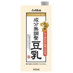ふくれん 九州産ふくゆたか大豆 成分無調整豆乳1L紙パック×12(6×2) 本入