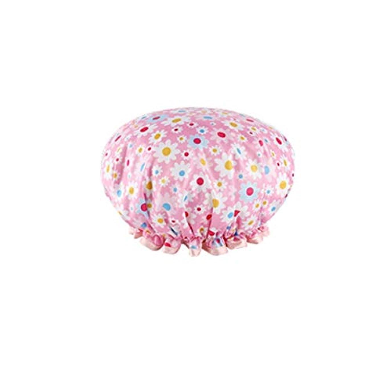 ゼリーインストラクター租界SMXGF シャワーキャップ、シャワーキャップ女性、防水シャワーお風呂フード、大人アンチヒュームキッチン帽子、髪の特別な女性モデルマスク、 (Color : A5)