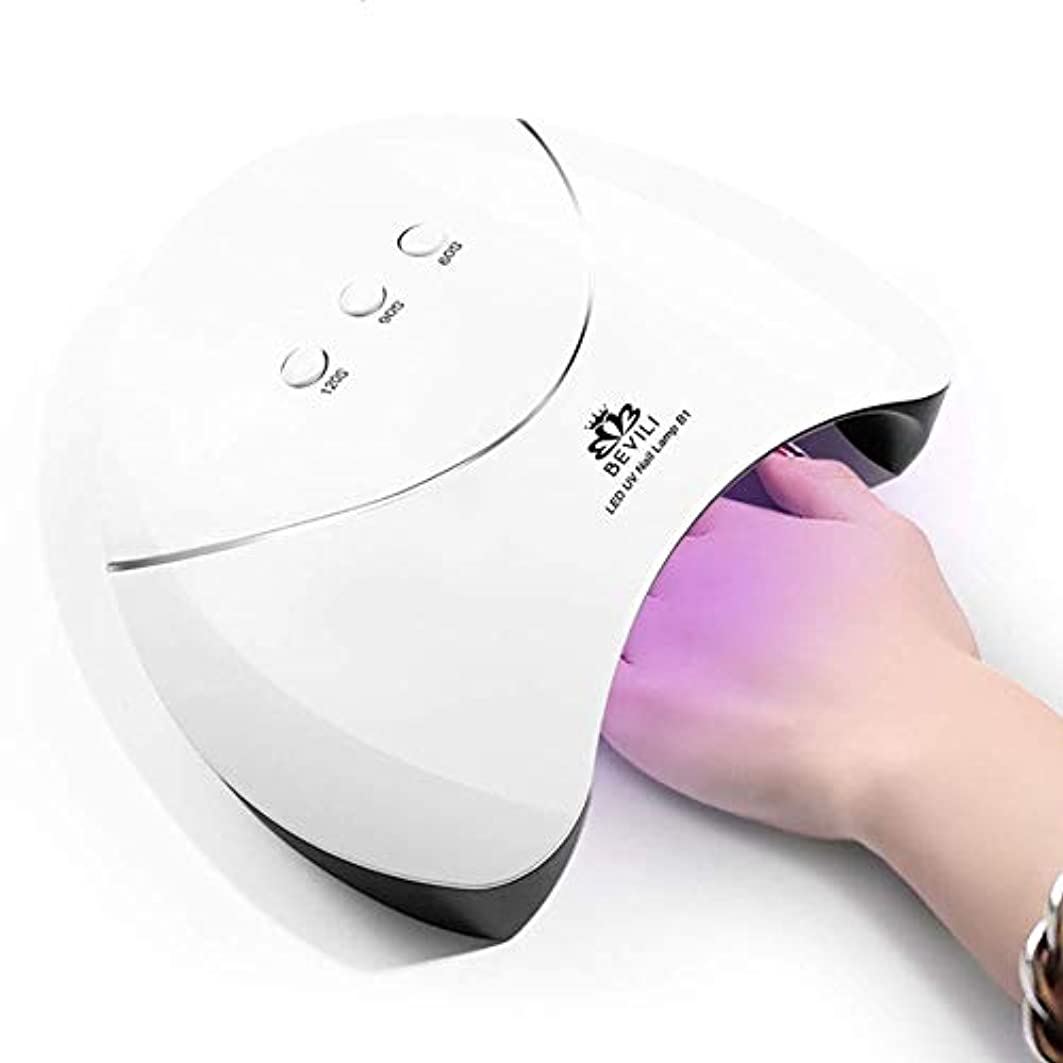 テープ従事した匹敵します爪の光線療法機械36Wスマートな誘導はドライヤーのマニキュアの光線療法の処置のベイクライトを導きました