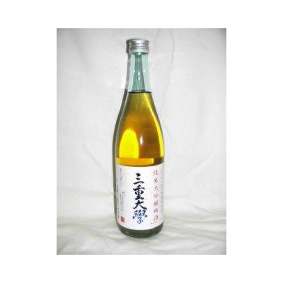 三重大學 純米大吟醸梅酒 720ml 12度 [寒紅梅酒造 三重県 梅酒 日本酒ベース]