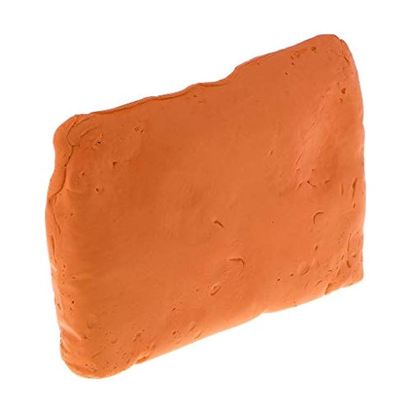 D DOLITY クレイのおもちゃ 軟質粘土 ねんど 柔らかい粘土 ゴム泥 色ねんど DIY団子 全7色 - オレンジ